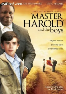 """Master Harold...and the boys Cover"