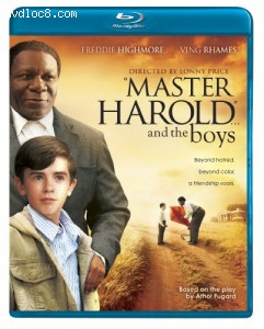 """Master Harold""... and the Boys [Blu-ray] Cover"