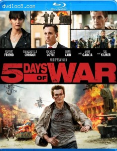 5 Days of War [Blu-ray] Cover