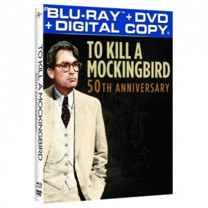 Cover Image for 'To Kill a Mockingbird 50th Anniversary Edition [Blu-ray + DVD + Digital Copy]'