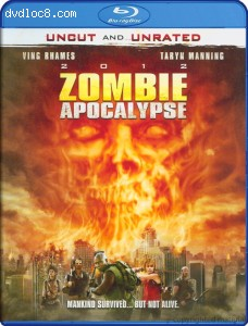 2012 Zombie Apocalypse (Uncut and Unrated) [Blu-ray] Cover