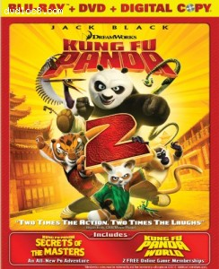 Cover Image for 'Kung Fu Panda 2 / Secrets of the Masters (Two-Disc Blu-ray/DVD Combo + Digital Copy)'