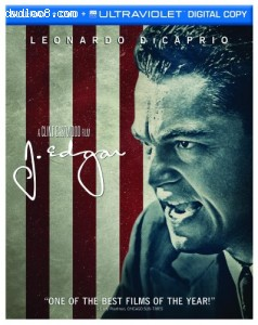 J. Edgar (Two-Disc Blu-ray/DVD Combo + UltraViolet Digital Copy) Cover