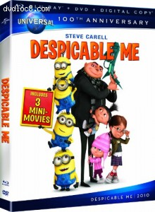Despicable Me [Blu-ray + DVD + Digital Copy] (Universal's 100th Anniversary)