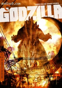 Godzilla: The Criterion Collection Cover