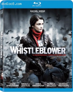 Whistleblower, The [Blu-ray] Cover