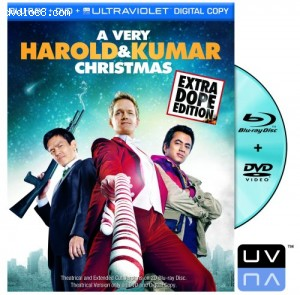Very Harold & Kumar Christmas (Two-Disc Blu-ray/DVD Combo + UltraViolet Digital Copy), A Cover