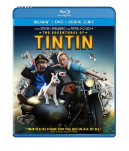 Adventures of Tintin (Two-Disc Blu-ray/DVD Combo + Digital Copy), The Cover