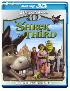 Shrek the Third 3D [Blu-ray]