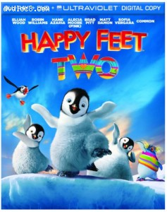 Cover Image for 'Happy Feet Two (Blu-ray/DVD Combo + UltraViolet Digital Copy)'