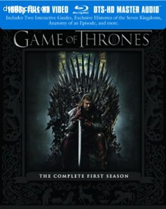 Game of Thrones: The Complete First Season [Blu-ray] Cover