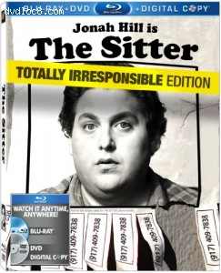 Cover Image for 'Sitter (Two-Disc Blu-ray/DVD Combo + Digital Copy), The'