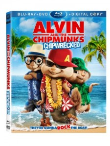 Alvin and the Chipmunks: Chipwrecked (Blu-ray/ DVD + Digital Copy) Cover