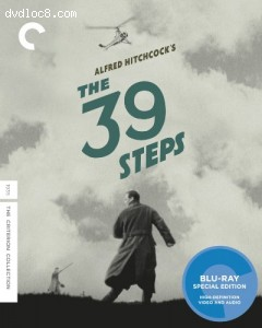 39 Steps, The [Blu-ray] Cover