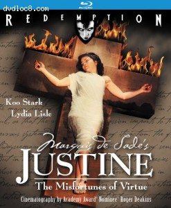 Marquis De Sade's Justine: Remastered Edition [Blu-ray] Cover
