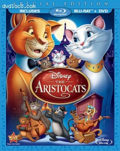 Aristocats (Two-Disc Blu-ray/DVD Special Edition in Blu-ray Packaging), The Cover