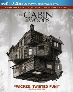 Cabin In The Woods, The [Blu-ray + Digital Copy] Cover