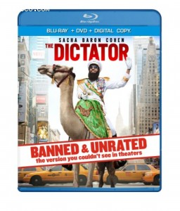 Dictator - BANNED & UNRATED Version (Two-disc Blu-ray/DVD Combo + Digital Copy), The
