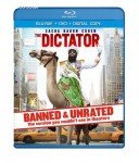 Cover Image for 'Dictator - BANNED & UNRATED Version (Two-disc Blu-ray/DVD Combo + Digital Copy), The'