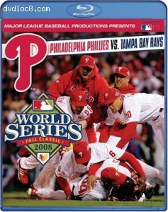 2008 Philadelphia Phillies: The Official World Series Film [Blu-ray] Cover