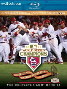 2011 World Series Champions: St. Louis Cardinals [Blu-ray] Cover