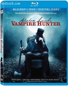 Abraham Lincoln: Vampire Hunter [Blu-ray] Cover