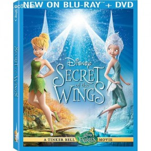 Tinker Bell: Secret Of The Wings BLU-RAY and DVD