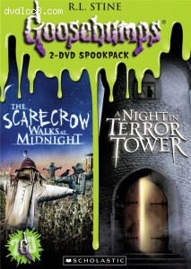 Goosebumps: Scarecrow Walks at Midnight / Night in Terror Tower Cover