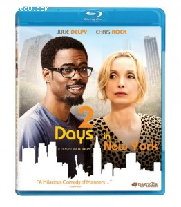 2 Days in New York [Blu-ray] Cover
