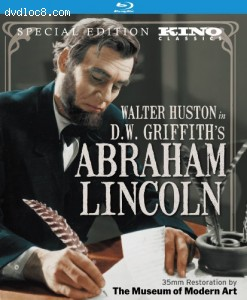 D.W. Griffith's Abraham Lincoln [Blu-ray] Cover