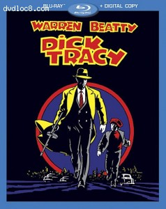 Dick Tracy (Blu-ray + Digital Copy) Cover