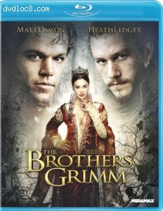 Brothers Grimm [Blu-ray] Cover