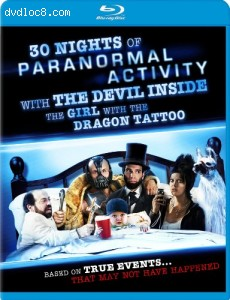 30 Nights of Paranormal Activity With the Devil [Blu-ray] Cover