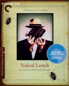 Naked Lunch (Criterion Collection) [Blu-ray] Cover