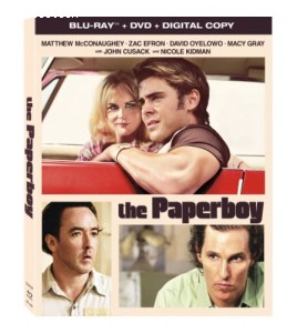 Paperboy, The (DVD/Blu-Ray/Digital) Cover