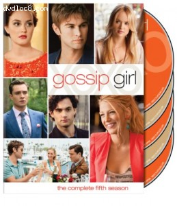 Gossip Girl: The Complete Fifth Season Cover