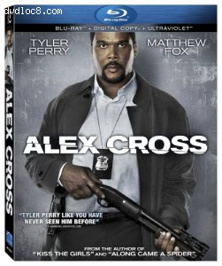 Alex Cross [Blu-ray + Digital Copy + UltraViolet] Cover