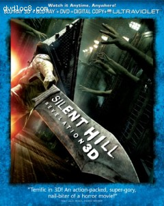 Silent Hill: Revelation 3D (Three-Disc Combo Pack: Blu-ray 3D + Blu-ray + DVD + Digital Copy + UltraViolet) Cover