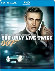 You Only Live Twice [Blu-ray] Cover