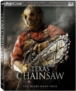Cover Image for 'Texas Chainsaw [3D Blu-ray + Blu-ray + Digital Copy + UltraViolet]'
