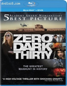 Zero Dark Thirty (Blu-ray/DVD Combo + UltraViolet Digital Copy) Cover
