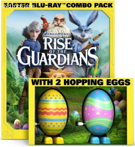 Rise of the Guardians - Limited Edition Easter Gift Pack (Blu-ray / DVD / Digital Copy + 2 Hopping Toy Eggs) Cover