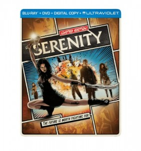 Serenity [Blu-ray] Cover