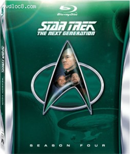 Star Trek: The Next Generation - Season 4 [Blu-ray] Cover