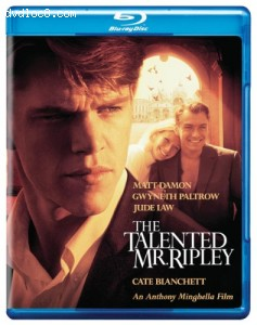 Talented Mr Ripley [Blu-ray] Cover