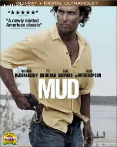 Mud (Blu-ray + Digital Copy + Ultraviolet) Cover