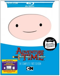 Adventure Time: The Complete First Season [Blu-ray] Cover