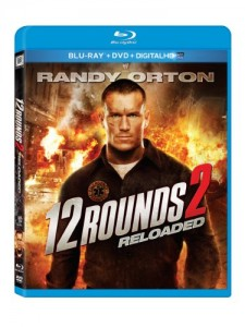 12 Rounds 2: Reloaded [Blu-ray] Cover