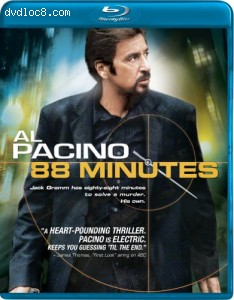88 Minutes [Blu-ray] Cover