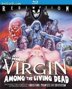 A Virgin Among The Living Dead: Remastered Edition [Blu-ray] Cover